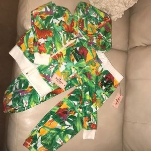 Juicy Couture Terry Jumpsuit Girls size XS